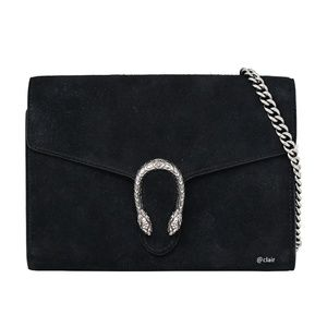 Gucci Dionysus Suede Mini Wallet On Chain